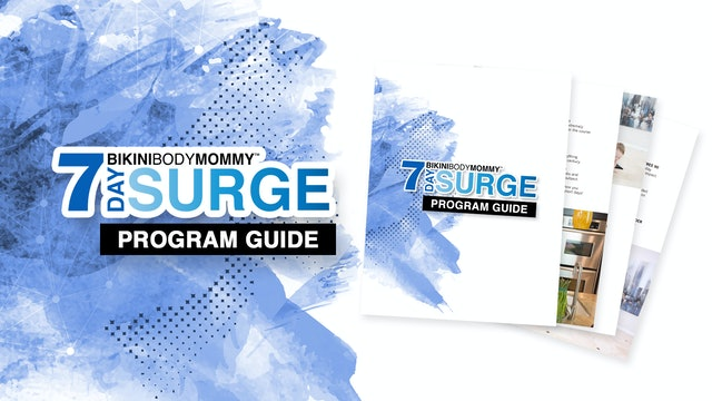 7 Day Surge: Program Guide (PDF)