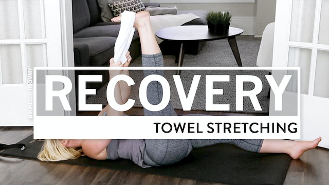 Towel Stretching