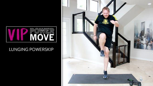 Lunging Power Skip