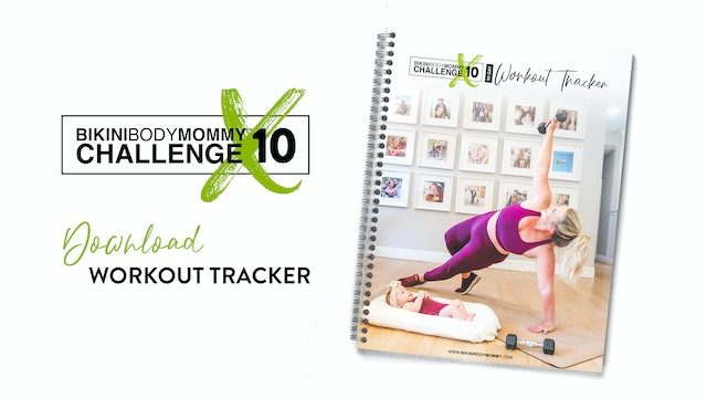 BBMC 10: 90 Day Workout Tracker