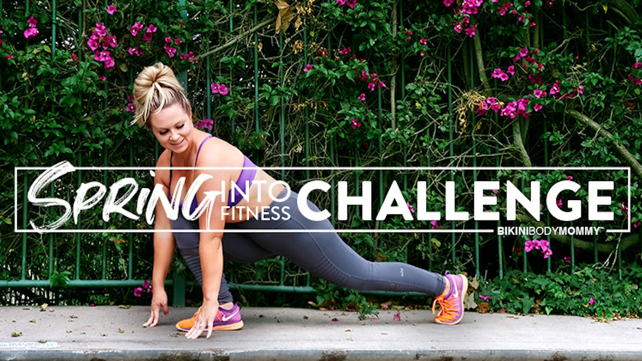 Spring Into Fitness Challenge Contest