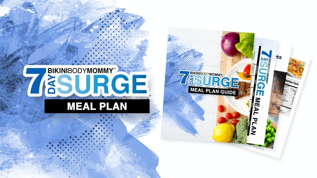 7 Day Surge: Meal Plan (PDF)