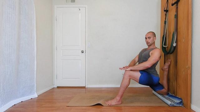 Yoga for low back pain / Elia Nikolaev / 35 min.