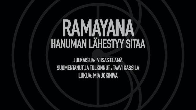 Ramayana / Hanuman lähestyy Sitaa (Viisas Elämä ja Taavi Kassila)