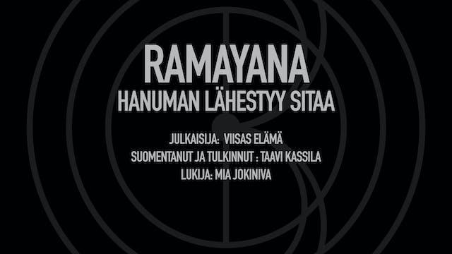 Ramayana / Hanuman lähestyy Sitaa (Vi...