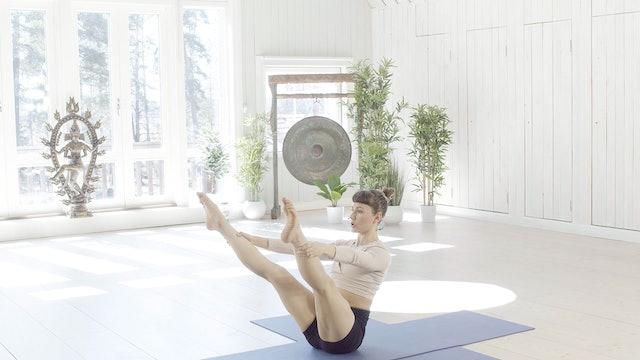 Keskivartalon pilates / Hanna Manninen / 45 min.