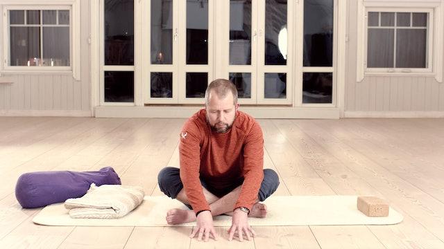 Meditatiivinen yin / Jouni Hallikainen / 55 min.