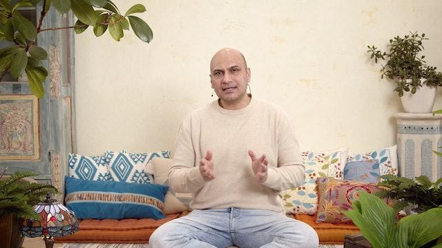 Kehon tasapaino - kolme pilaria / Pardaman Sharma / 15 min.