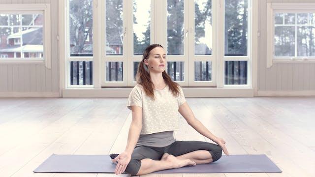 Tulielementin ja sydänenergian medita...