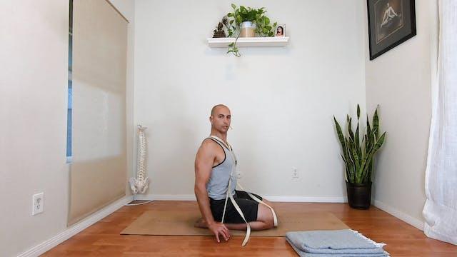 Yoga to alleviate neck & upper back t...