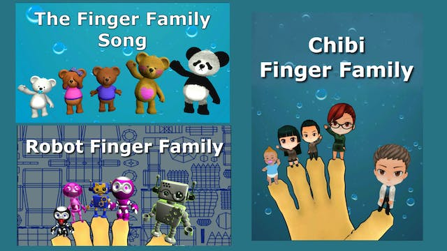 The Finger Family Song Compilation