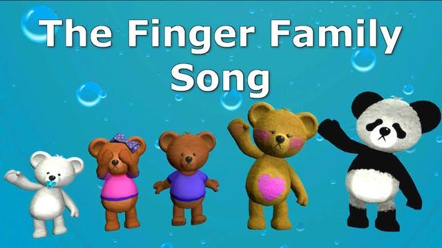 Teddy Bear Finger Family