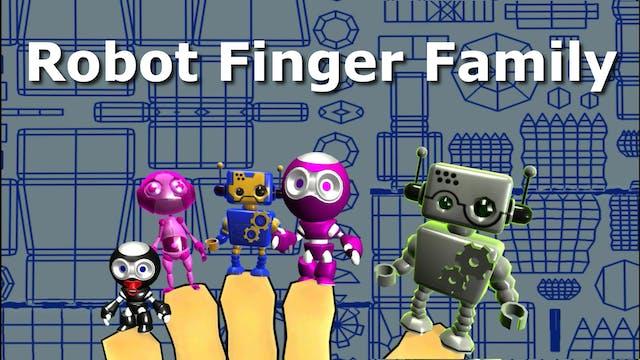 Robot finger family song