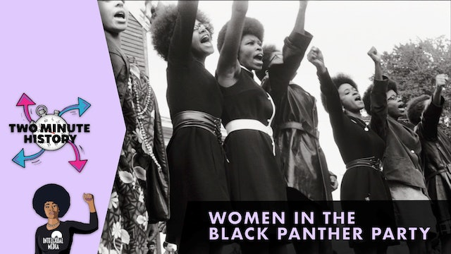 TWO MINUTE HISTORY | BLACK PANTHER PARTY WOMEN