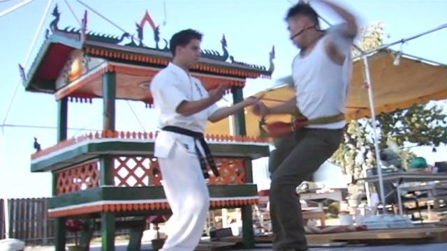 Fight Scene Blasts: Triple Dragon