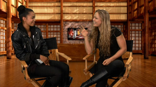 3 Rounds With: Ronda Rousey