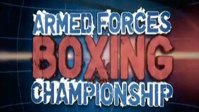 Armed Forces Boxing