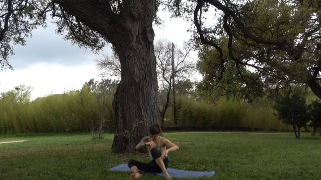 post workout + general tension release decompression
