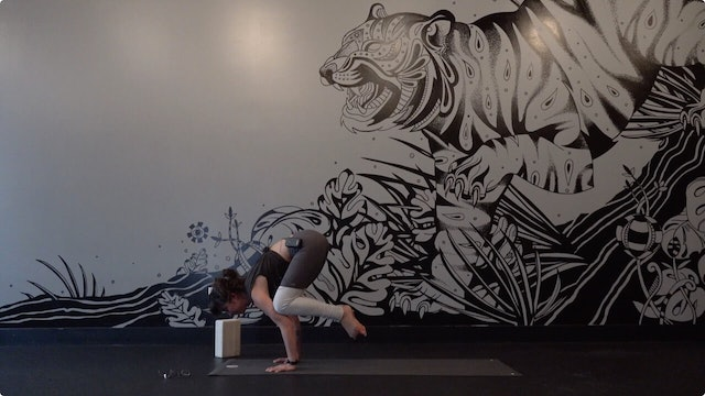 Crow Pose and Tripod Headstand. How they Relate