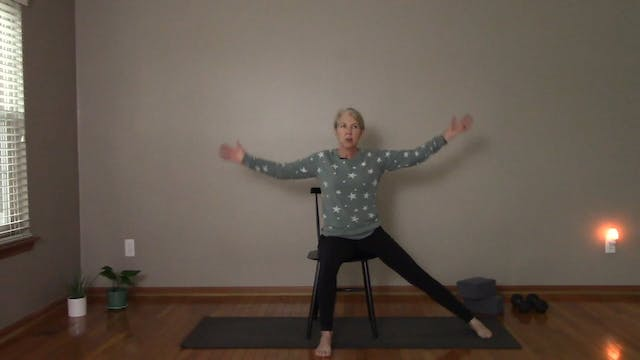 Chair Yoga Sampler