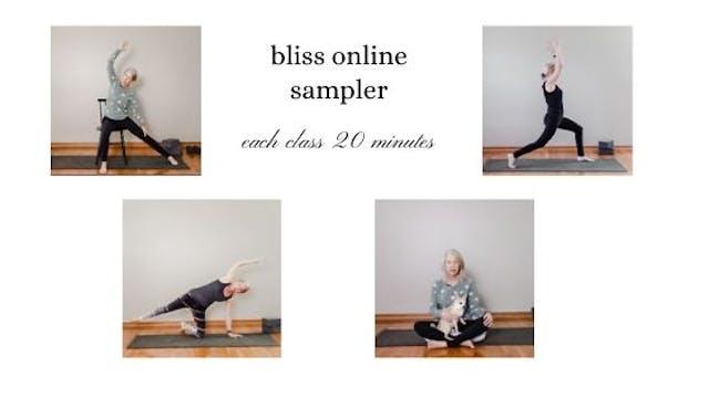 bliss online sampler