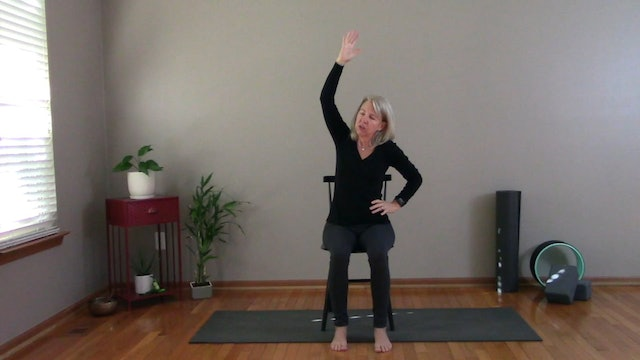 Just 10 Minutes: Chair Yoga