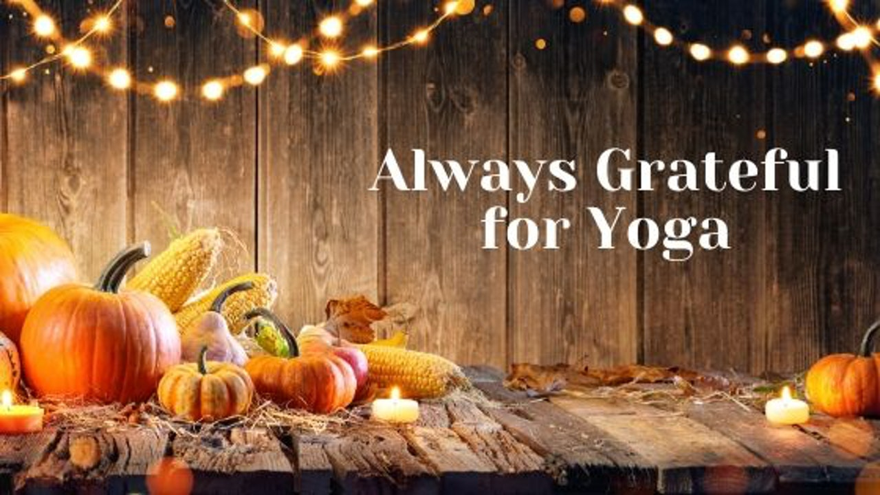 november we are bringing gratitude into out practice