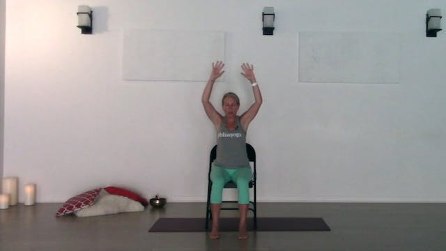 Chair Yoga 2