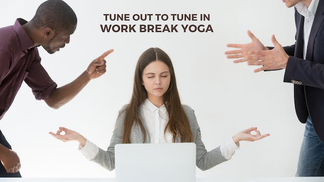 work break yoga