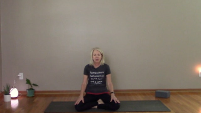 Meditation using a focal point