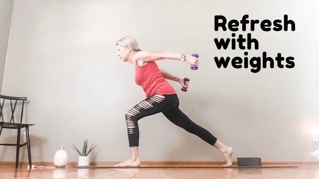 refresh with weights