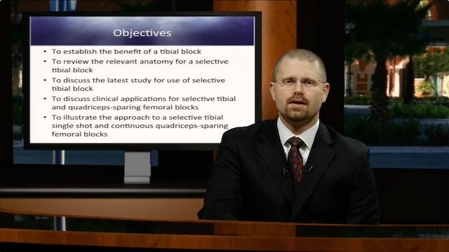 Selective Tibial & Quadriceps Sparing Continuous Femoral Blocks