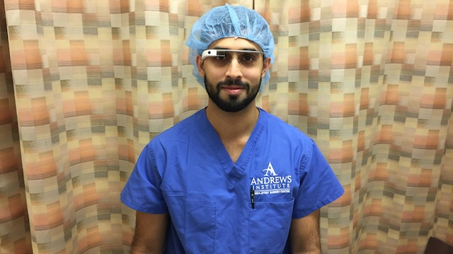 Retrobulbar, Supraorbital, and Facial Nerve Blocks with Google Glass