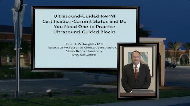 US-Guided RAPM Certification