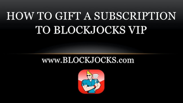 Blockjocks VIP Gifting Tutorial