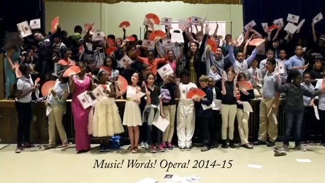 Highlights from the Festival of Classroom Operas