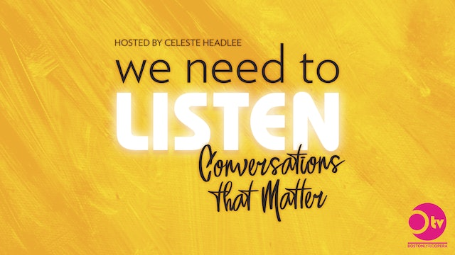 We Need to Listen: Conversations that Matter with Celeste Headlee