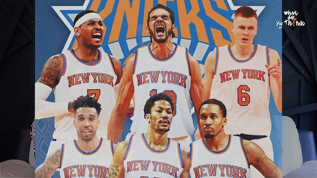 Derrick Rose says Knicks are a Super Team