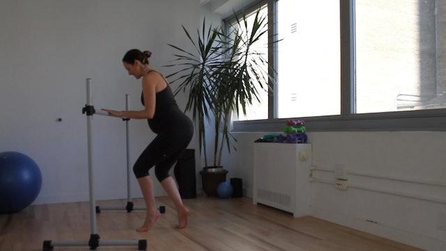 11 Mins - Legs & Butt - Barre (Prenatal)
