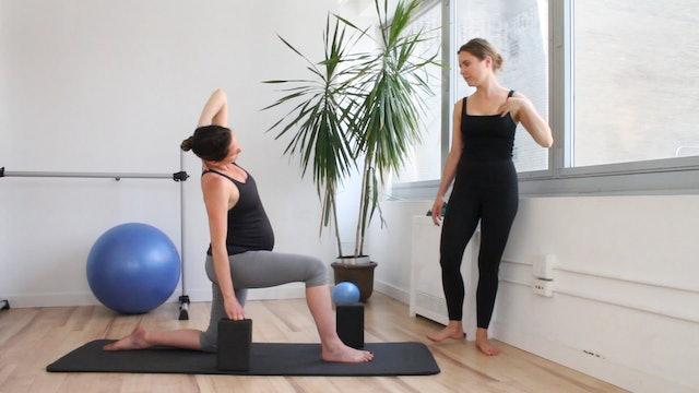 11 Mins - Yoga - Block (Prenatal)