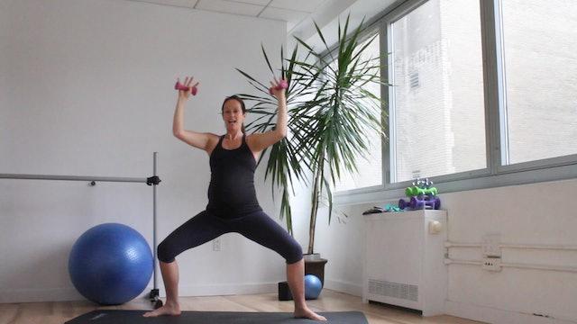 11 Mins - Arms - Light Hand Weights (Prenatal)