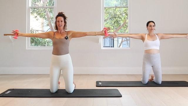 11 mins - Arms - Hand Weights (Prenatal)