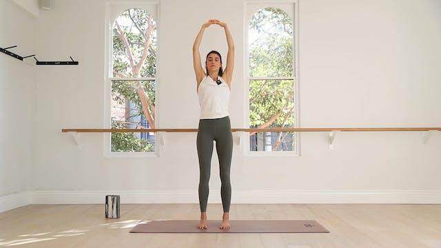 21 mins - Yoga Flow - Yoga Brick (Pos...