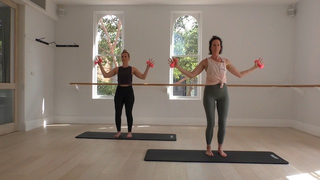 12 Mins - Arms - Light Hand Weights  (Strong Mama)