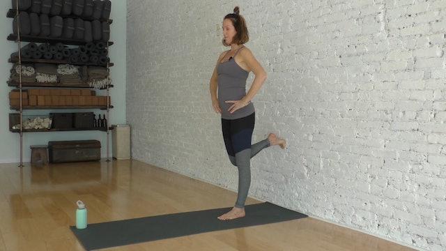 11 Mins - Week 12 - Legs - Wall (Prenatal)