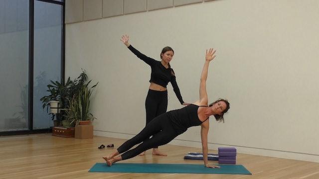 11 Mins - Full Body - Yoga Flow - Blocks (Postnatal)
