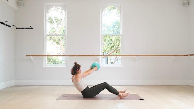 8 Mins - Core - Pilates Ball (Strong Mama)