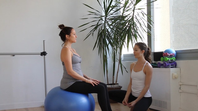 11 Mins - Core - Physio Ball (Prenatal)