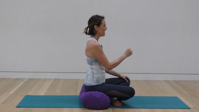 2 Mins - Pelvic Floor Series - Bolster or Cushion (Prenatal)