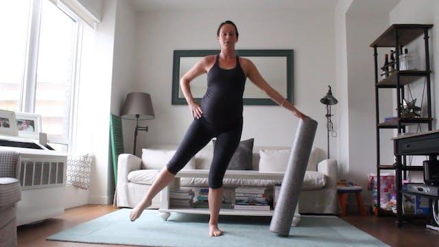 11 Mins - Legs - Foam Roller (Prenatal)